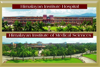 Swami Rama founded the Himalayan Institute Hospital and the Himalayan Institute of Medical Sciences